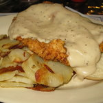 Pork Tenderloin with white gravy