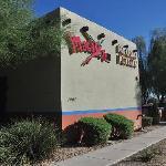 Outside wall of Macayo's in Scottsdale, AZ