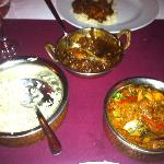 The main dishes
