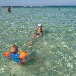La mer... transparente et chaude