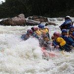 a wild ride thru the rapids