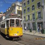 Un Tramway Typique de Lisbonne