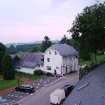 Hotel Eifeler Hof - view from our room window