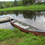 boat on the pond