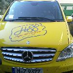 our ride - very yellow!