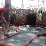 Crazy Golf at Cypsela