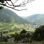 Vue sur la vallée de Luz