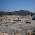 La pozza di fango caldo delle terme di vulcano