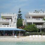Ocen view of the villas