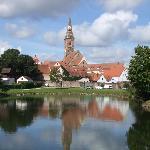 pond in Wolframs-Eschenbach