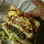 Super Beatty Breakfast Sandwich