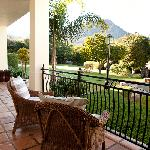 2000 square meters garden with stunning mountain views