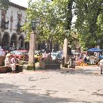 Main square Patzcuaro