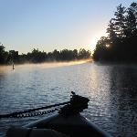A scenic early morning trip down the Ash River