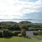 View from the B & B to Ilse of Skye