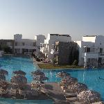 Panoramic view from our room.