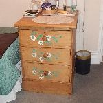 Bedroom 2 drawers and excellent tea making facilities