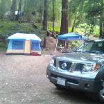 our campsite site 29