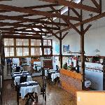 The lovely breakfast room on the 3rd floor