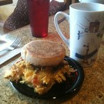 Santa Fe breakfast sandwich