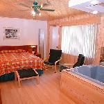 Chambre superieure avec bains double