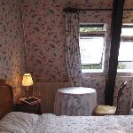 4Fにある泊まったお部屋は可愛らしく統一されてました。