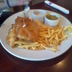 EPIC Fish & Chips :D (half eaten)