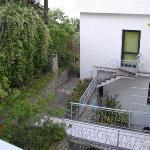 veiw from balcony superior room