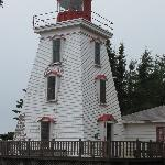 Cape Bear Lighthouse on eastern side of the island