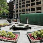 Reflecting Fountain - New York City Vietnam Veterans Memorial Plaza