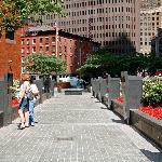 Walk of Honor - New York City Vietnam Veterans Memorial Plaza