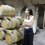 Alina giving us a wine tour