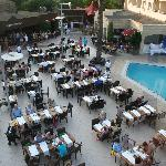 THe pool / Dinning Area