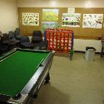 The game room..