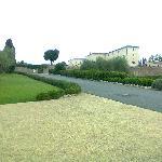 Una delle strade interne al borgo