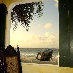 Salle à marger vue sur mer