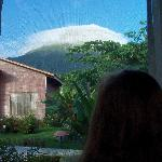 View of Arenal from the room