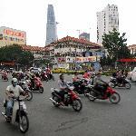 Crazy Saigon traffic