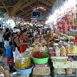 View of the market