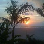 "Beach, Palm Trees & Sunset, ""WOW"""