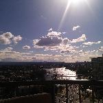 Looking out over the Nerang River in August 2011 (Apt 13D)