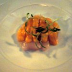 Entree - scallops - very very small