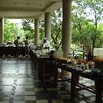 The fabulous breakfast buffet