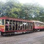 Electric Tram at Laxey
