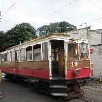 Electric Tram at Ramsey