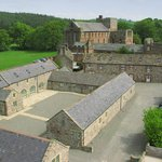 Aerial view of Lanercost Holiday Cottages & Lanercost Priory