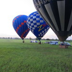 launching area, u will find different Hot Air Balloons operators