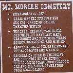 Cemtery Information