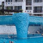 ..una parte di piscina