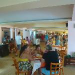 Restaurant - unfortunatelly too crowded, people waiting for tables to be freed